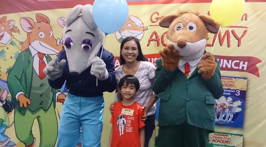 Saturdate with My Boys and Geronimo Stilton