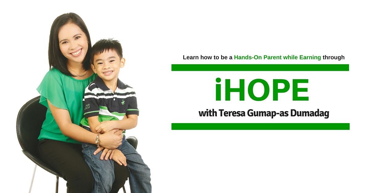 Facebook Ad - iHOPE with Teresa G. Dumadag