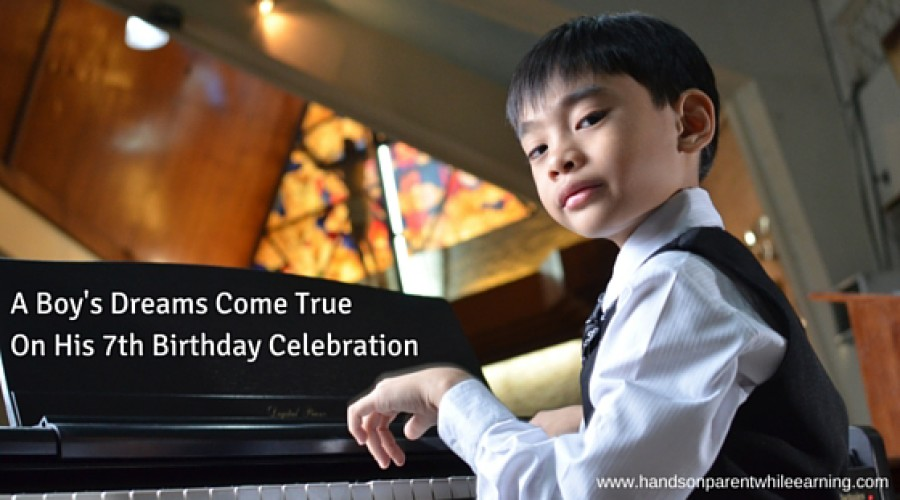 A Boy's Dreams Come True on His 7th Birthday Celebration