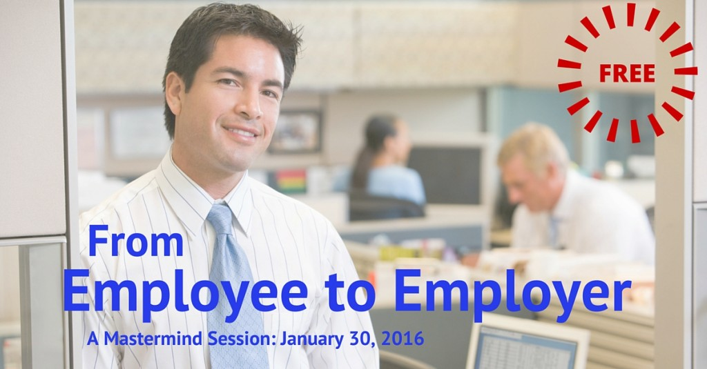 From Employee to Employer Mastermind FB ad