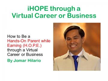 iHOPE through Virtual Career or Business