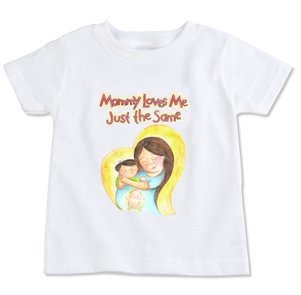 mommylovesme kiddie shirt