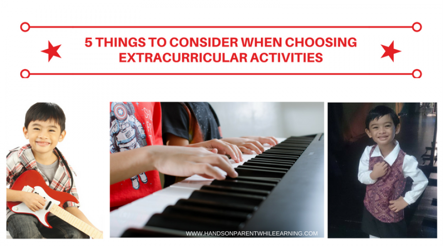 5 Things to Consider When Choosing Extracurricular Activities