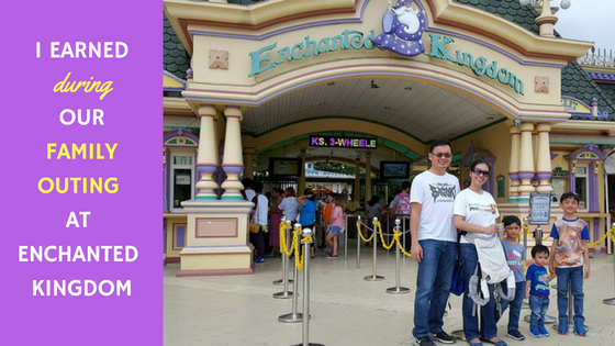 i earnedduring our family outing atenchanted kingdom