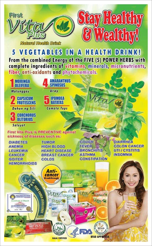 Vita Plus Natural Health Drink Reviews