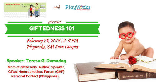 Is Your Child Gifted? Get Your Questions Answered at the Giftedness 101 Talk