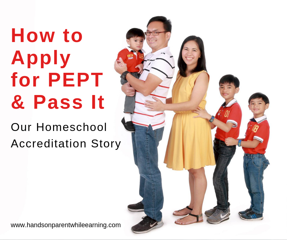 How to Apply for PEPT and Pass it: Our Homeschool Accreditation